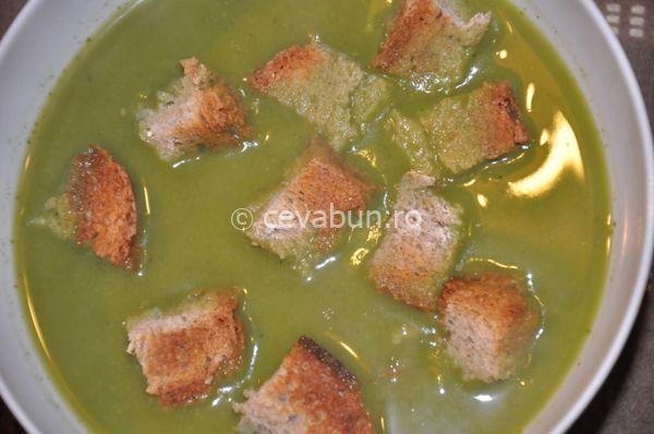 Reteta supa crema de mazare (de post)