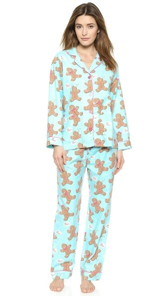 PJ LUXE PJ Salvage Gingerbread Man PJs
