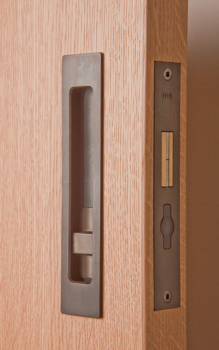 Sliding Door Hardware HB 690 Privacy Lock - Halliday Baillie - HandB2012