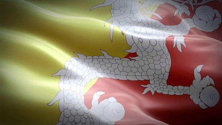 Flag of Bhutan