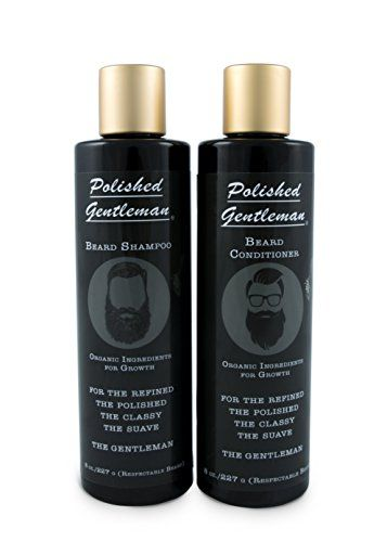 Polished Growth Beard Growth and Thickening Shampoo and Conditioner Review