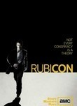 """Rubicon"" TV Show on AMC Network (2010) --- Will Travers (James Badge Dale) is an analyst working for the American Policy Institute, a NYC-based 'think tank', who discovers that the higher-ups may be up to something sinister after his boss (Peter Gerety) commits suicide in direct violation of his OCD rituals. In the course of his promotion at work, Will stumbles on evidence that he's actually working for a global secret society...with an ominous hidden agenda and the means to carry it out."