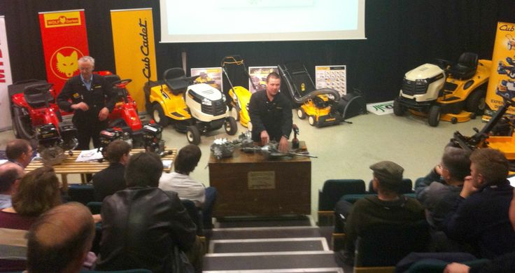 E.P. Barrus has been on the road! #CubCadet