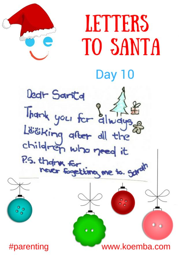 What to do when kids get cranky at Christmas - how to create an attitude of gratitude at home. Wise advice for parents with love from Santa.  #loveMrsClaus #ChristmasList #Christmas #love #parenting #LettersToSanta