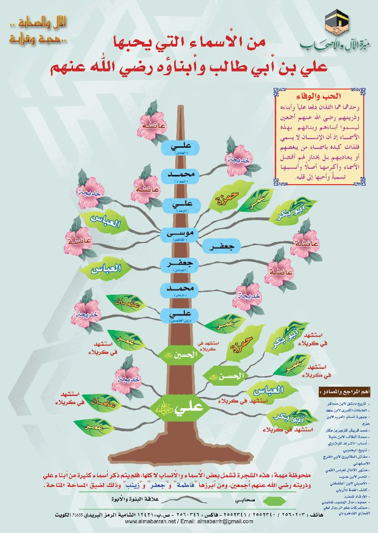 من الأسماء التى يحبها على بن ابى طالب وابنائه رضى الله عنهم Learn Islam Islam Facts Islamic Phrases