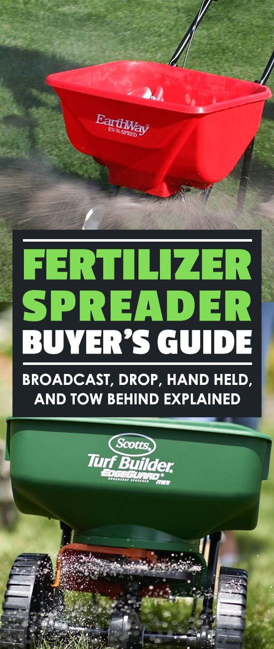 Fertilizer spreaders (also known as lawn or seed spreaders) are handy tools, but confusing to buy. Our buyer's guide gives you everything you need to know.
