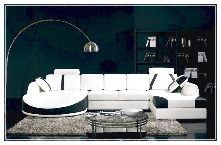 Sectional Sleeper Sofa with a modern design