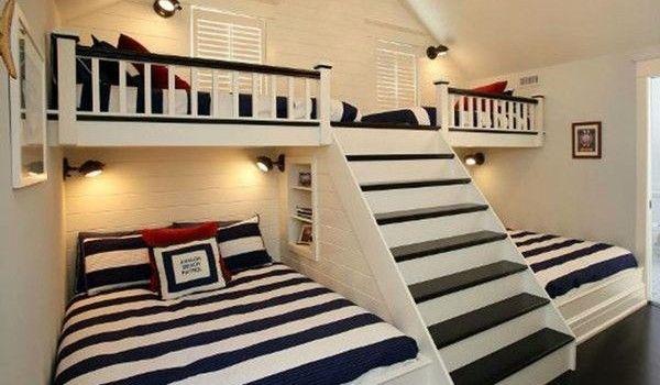 33 podkrovných miestností, ktoré majitelia premenili na úžasné detské izby!