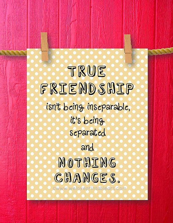 Gift For Best Friend Wall Decor Quote By