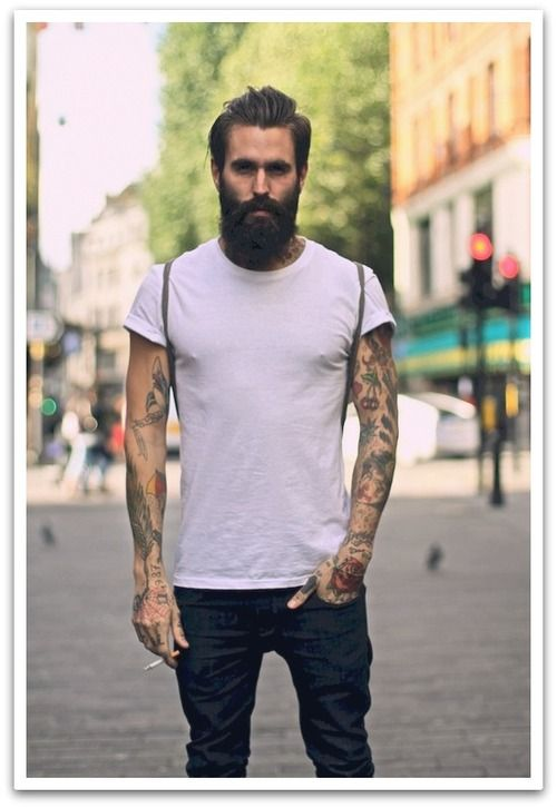 bearded men tumblr nice pinterest b rte mann mit bart und m nner outfit. Black Bedroom Furniture Sets. Home Design Ideas