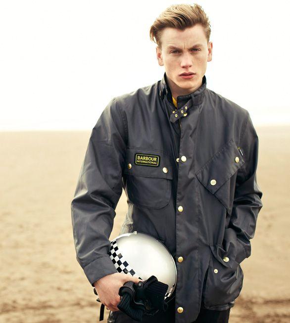 Barbour International Original Waxed Jacket