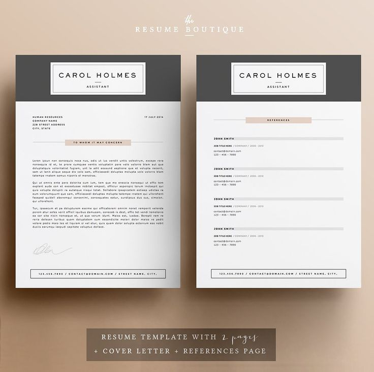 100 best Resume Templates images on Pinterest Resume, Resume - good fonts for resumes