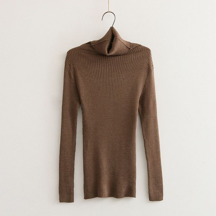 Slim fit Turtleneck Top