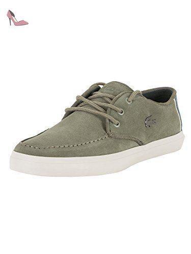 Lacoste Homme Sevrin 317 1 Formateurs CAM, Vert, 44.5 - Chaussures lacoste (*Partner-Link)
