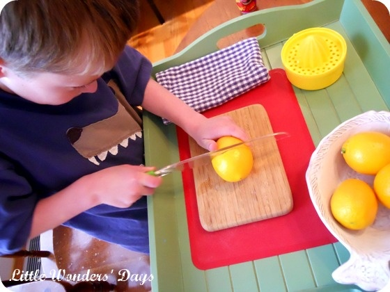 31 best images about montessori kitchen tools for two year for Kitchen set for 4 year olds
