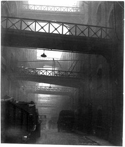 Bill Brandt (his use of natural light gives this ordinary place importance)