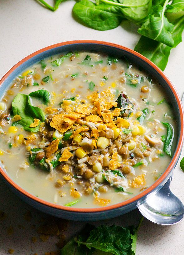 ... on Pinterest | Lentil soup, Slow cooker lentils and Santa fe chicken