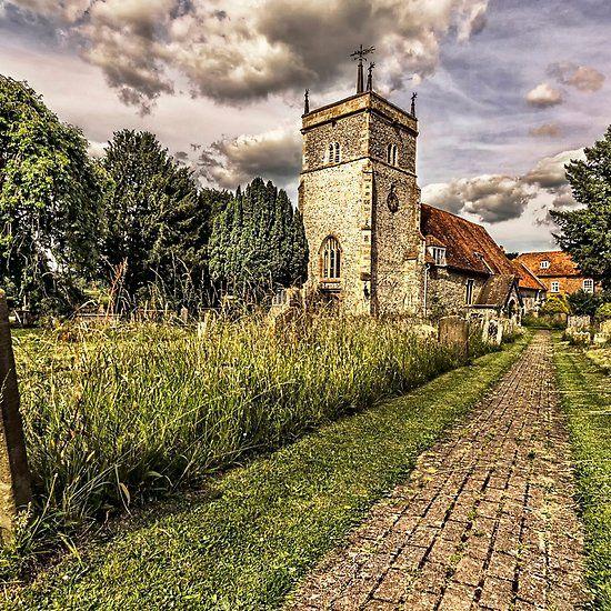 Bucklebury Parish Church Berkshire