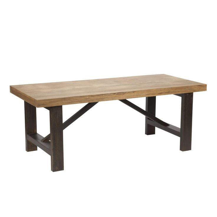 Novo Dining Table With Steel Base