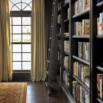 floor to ceiling bookcase design for the home pinterest french doors offices and window. Black Bedroom Furniture Sets. Home Design Ideas
