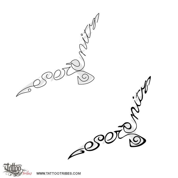 TATTOO TRIBES - Dai forma ai tuoi sogni, Tatuaggi con significato - gabbiano, serenità, sicurezza, rotta sicura, libertà