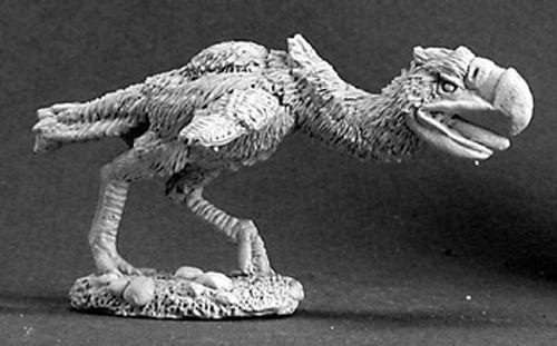 Reaper-Miniatures-Axebeak-Prehistoric-Bird-03092-Dark-Heaven-Unpainted-Metal