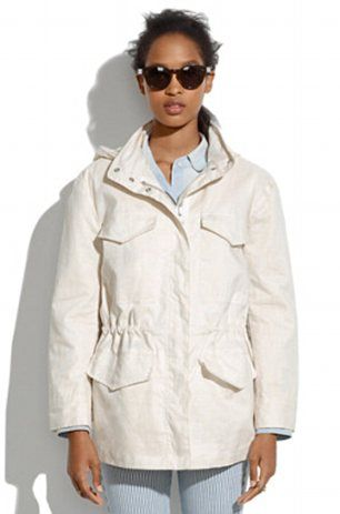 HOW TO DRESS NORMCORE: EIGHT OF THE BEST NINETIES-BLAND STAPLES - Waxed military anorak, $178, Madewell #Normcore