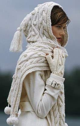 Schal Mütze in einem