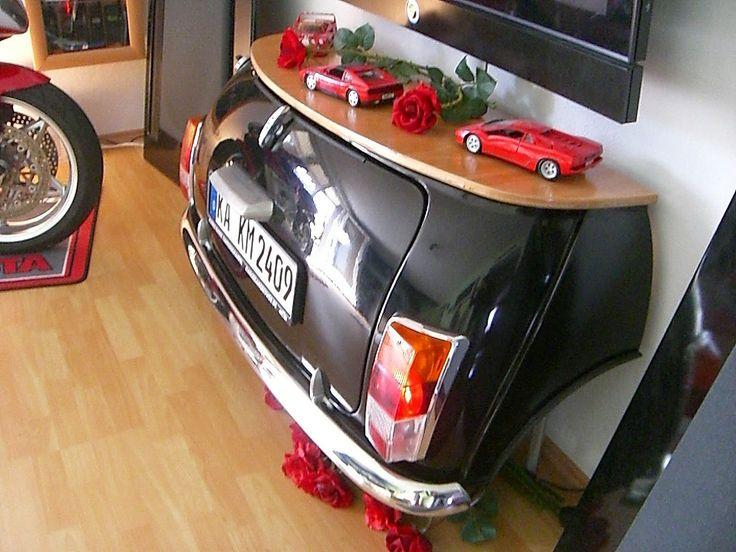 Originales muebles hechos con partes de coches Vol.2