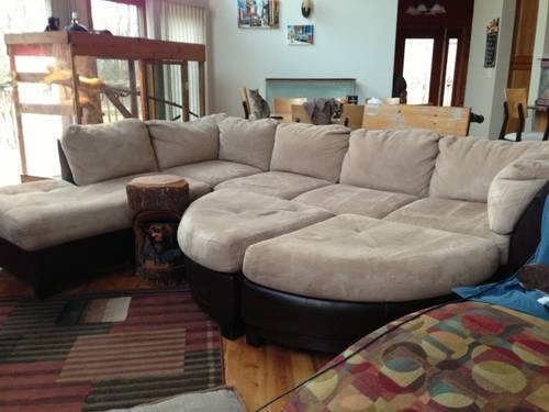 recovered this could be very nice the big comfy couch. Black Bedroom Furniture Sets. Home Design Ideas
