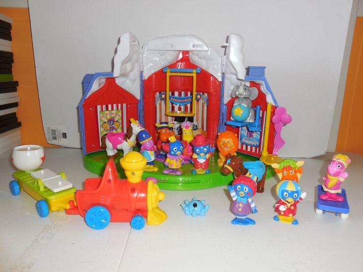 Backyardigans Big Top Circus Playset Amp Figures Toy Lot