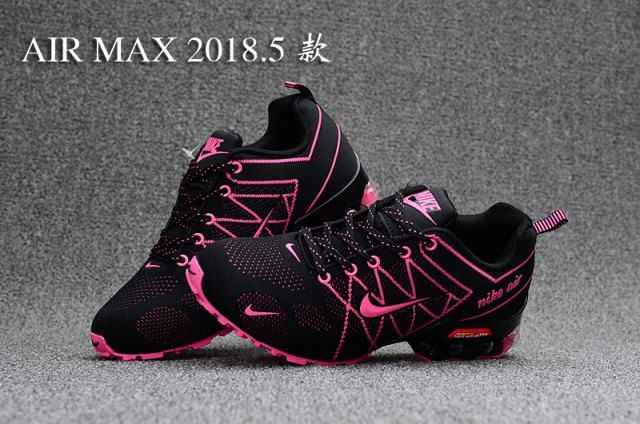 Best Sell Nike Air Ultra Max 2018. 5 Shox Pink Black Women's Casual Trainers Running Shoes DC005696
