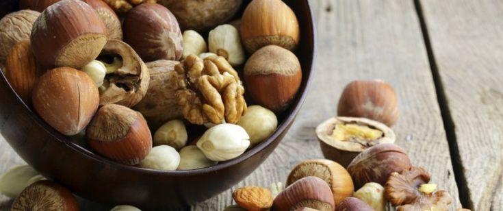 Bienfaits des amandes noix et noisettes