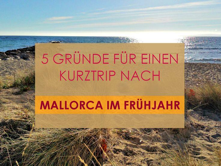 5 Gründe für einen Kurztrip nach Mallorca im Frühjahr