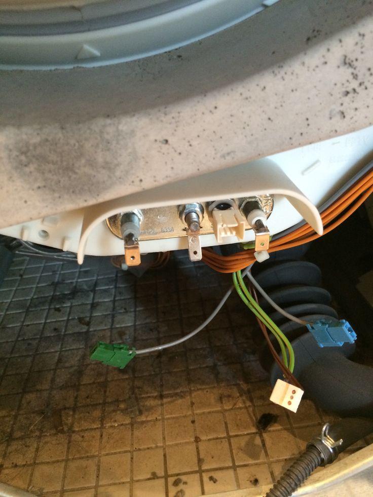 Varmelægme skift , Siemens vask tjek www.jf-Hvidevareservice. Dk