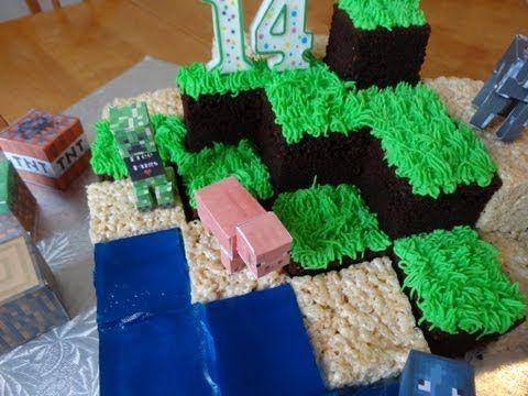 Foodista   Best Minecraft Cake Ever