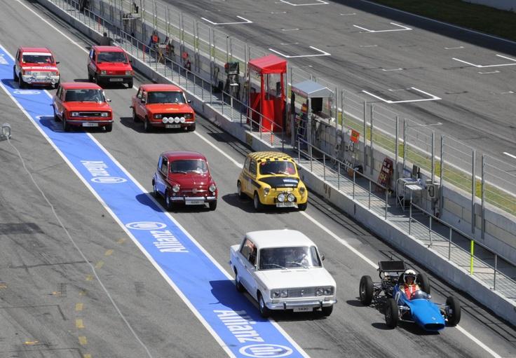 SEAT cars parade