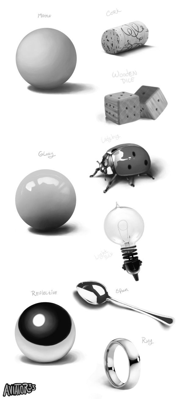 Material Studies by Aviator33 on DeviantArt