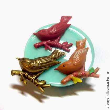 Сделано с любовью : украшения для своих работ из полимерных материалов...