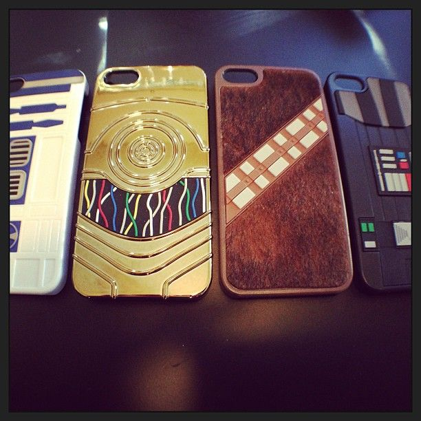 How A Star Wars Geek Styles Her Cell Phone! I'd like to thank my boyfriend for buying me these cases