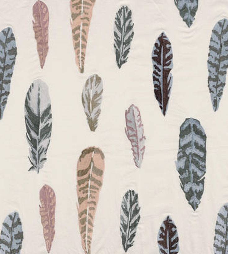 Feathers Fabric by Casamance | Jane Clayton