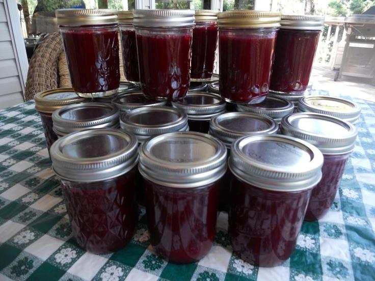 We loved Grandma's chokecherry jelly!