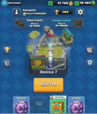 The incredibly exciting and fun multiplayer CC game of Clash Royale has become even faster paced and adventurous. Visit here http://www.game-endings.net/clash-royale-hack-get-free-gems-in-clash-royale/