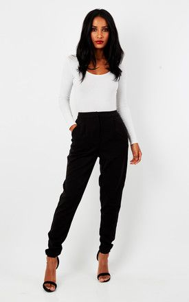 Black Trousers - SilkFred