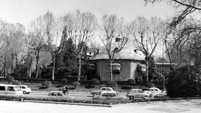 Florida Park en el Paseo de Coches de El Retiro - 1965