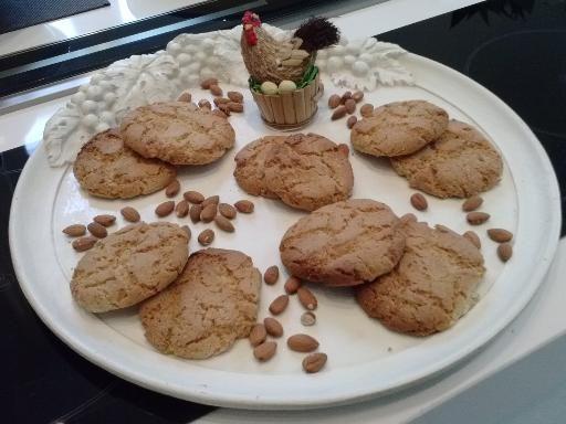 Cookies aux amandes - Recette de cuisine Marmiton : une recette
