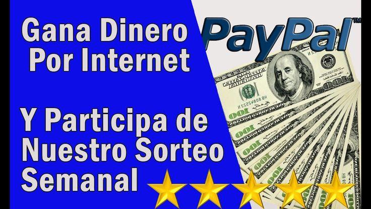Como Ganar Dinero Por Internet 2017 | Comprobante de Pago Paypal