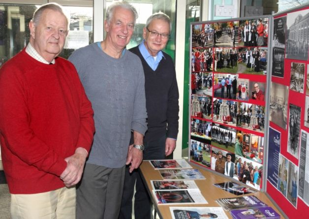Biggleswade library currently has a First World War exhibition on