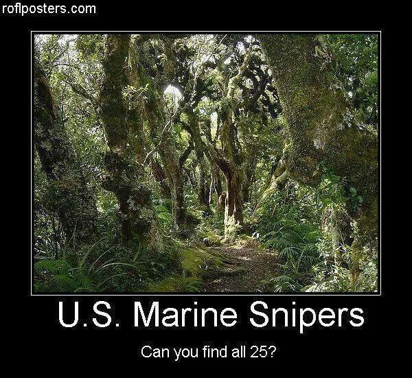 US Marine Snipers
