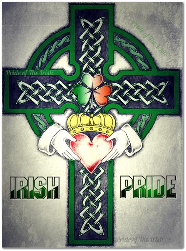 Irish Irish Pride Celtic Cross